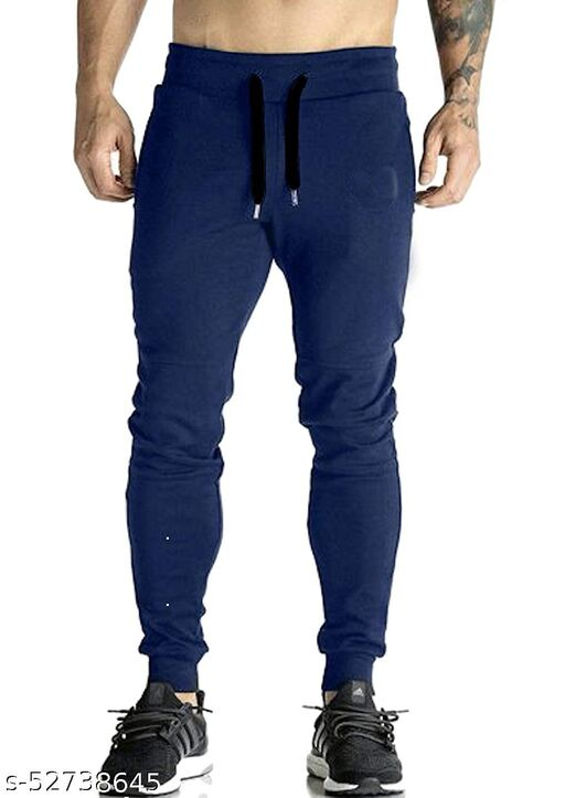 MENS-LOWER-208-NVY TRACK PANTS