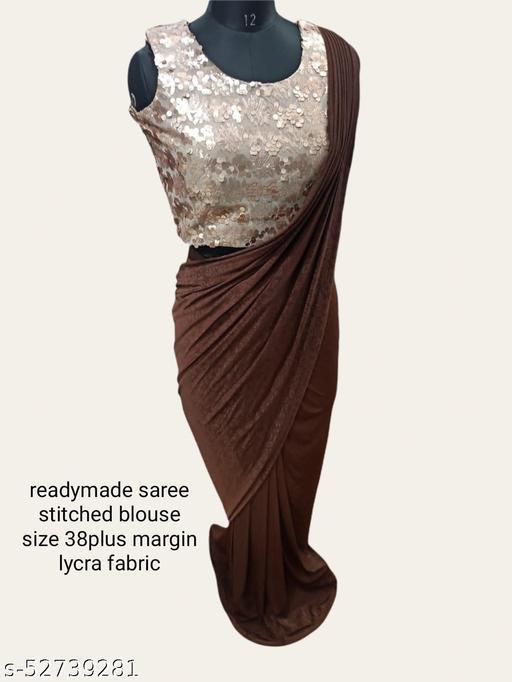 Diva readymade saree with blouse