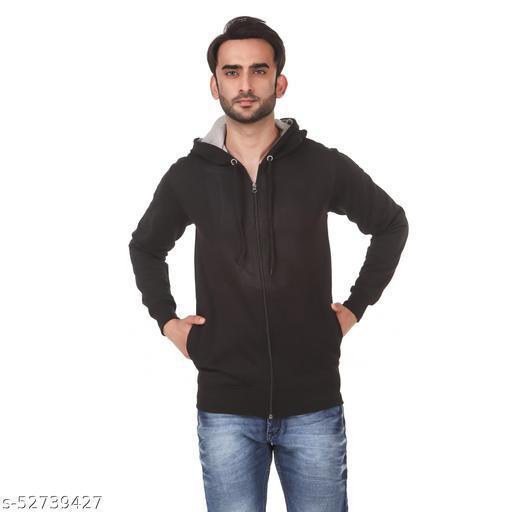 Full Sleeve Solid Men & Women Sweatshirt