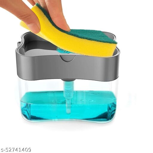 Smarty 2 in 1 Soap Dispenser for Dishwasher Liquid Holder