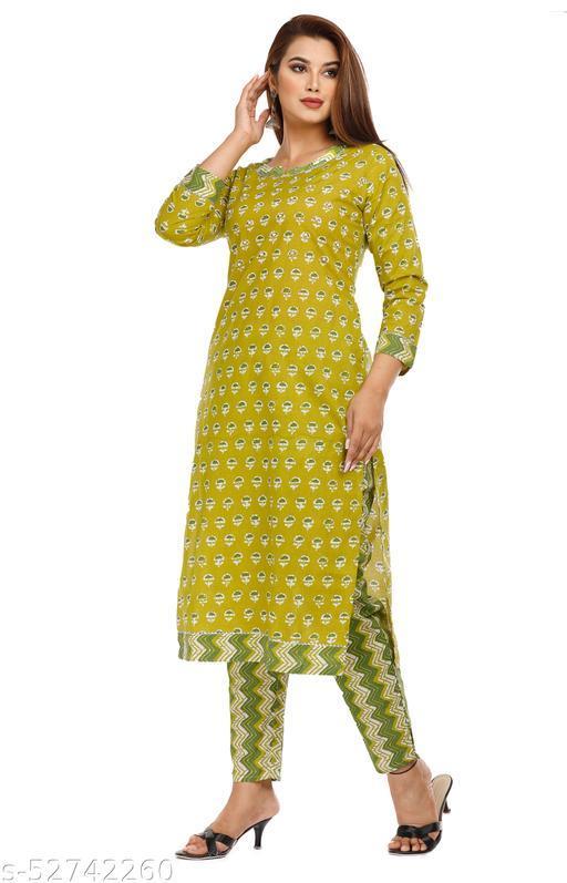 kurta And Pant Set for Woman Fution