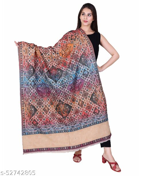 NYOLY Multicolor Women Bridal Shawl HB438