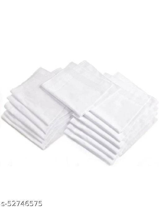 Premium quality hankerchief pack of 12