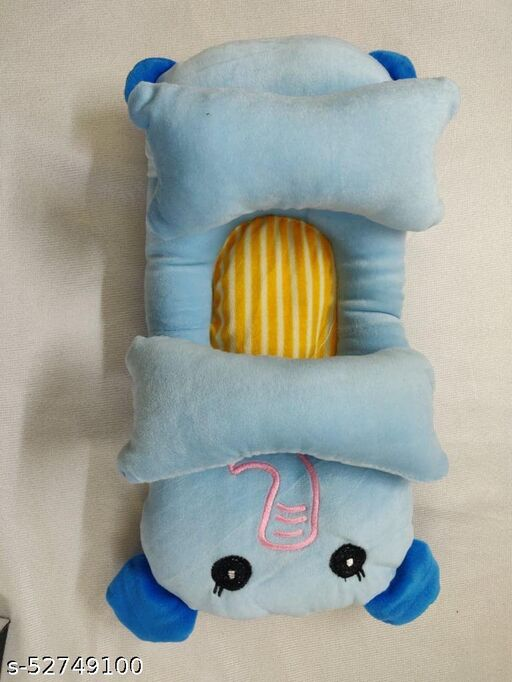 URBAN PLANET New Baby Neck Rest Pillow Size - 5*14 Inches Fabric - Velvet