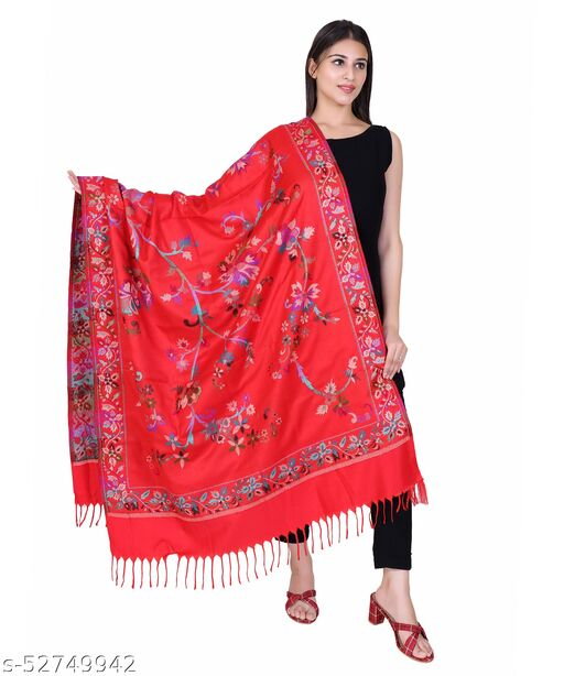 NYOLY Multicolor Women Bridal Shawl HB475
