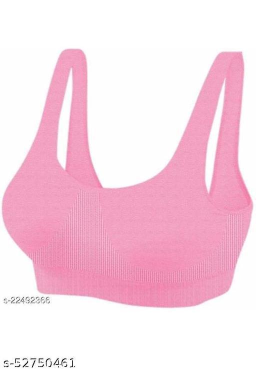 LS women fancy bra....... Pink