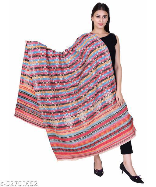 NYOLY Multicolor Women Bridal Shawl HB306