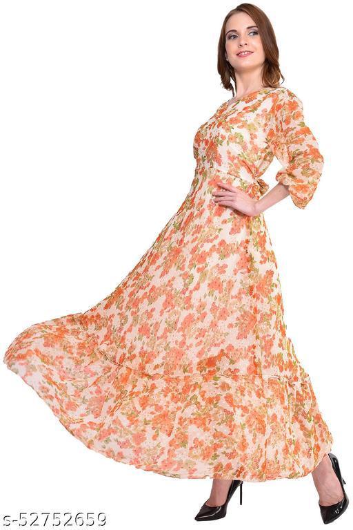 GoMilis Women's/Girls A-Line Gowns
