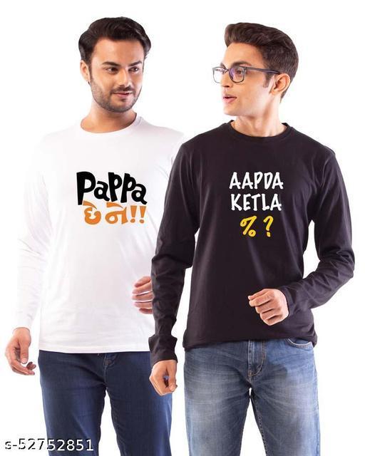 Trendy Partywear Men Tshirts
