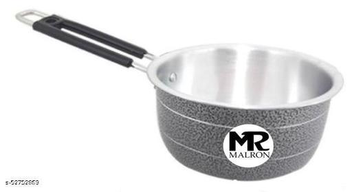 MALRON ALUMINIUM COATED SAUCE PAN (INDUCTION BASE)