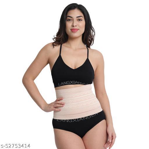 Women's Cotton & Elastane Solid Slim Belt with Adjustable Closure