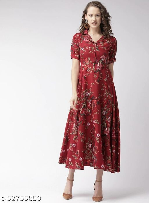 RM- 576 MAROON BUTTON