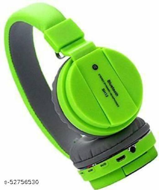 SH-12 Wireless/ Bluetooth Headphone