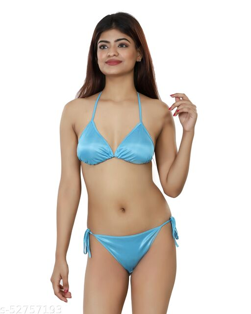 Nivcy Women Lingerie Set Ocean Blue
