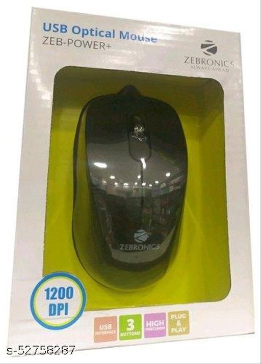 zebronics mouse