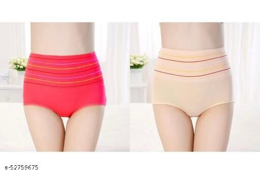 Women Hipster Multicolour Sexy Cotton Blend Panties