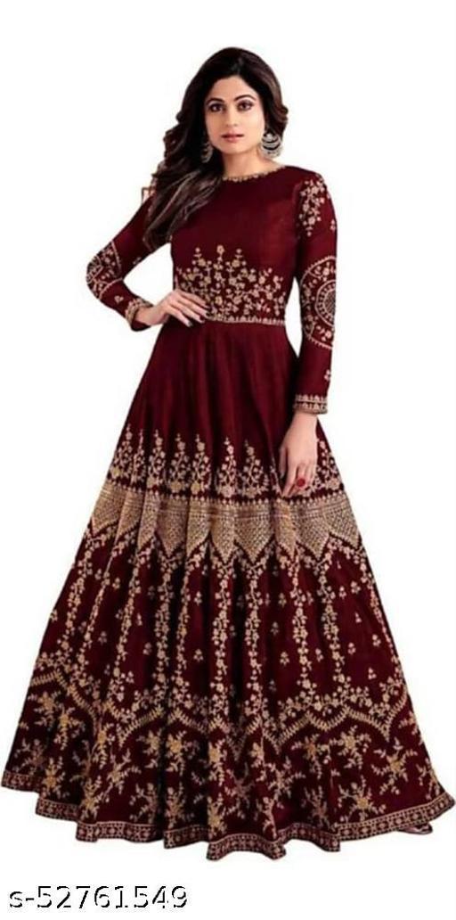 Fuljari Maroon gowns