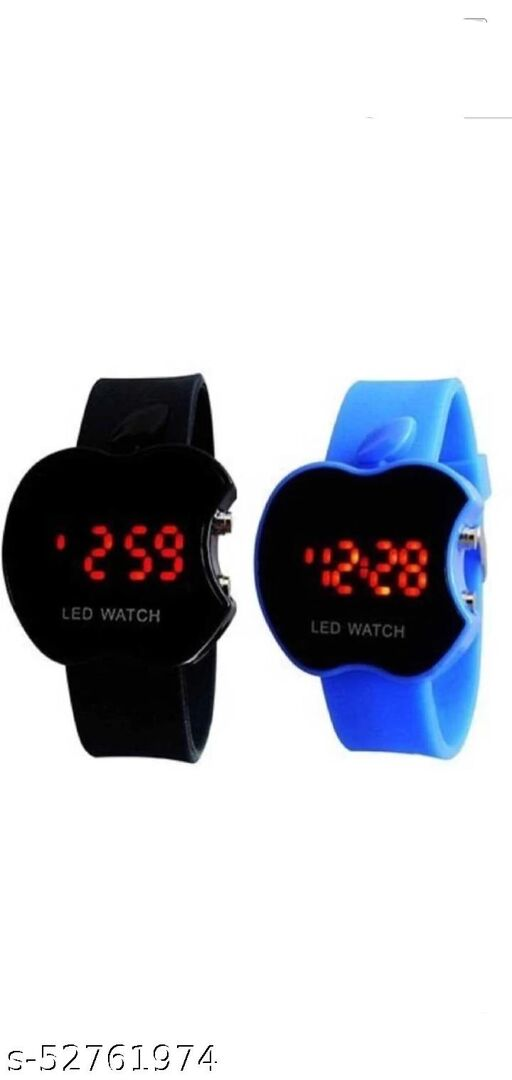 Apple Kids watch pack of 2 (black and blue)