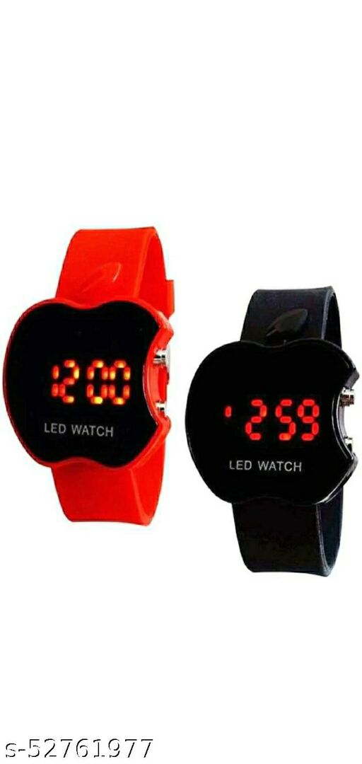 Apple Kids watch pack of 2 (red and black)