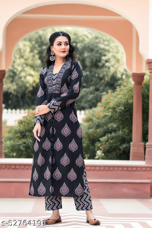 fabric cotton kurti with pant