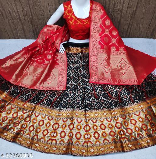 Shangreela Banarasi brocade Lehnga and ready paded Blouse and Banarasi duppta