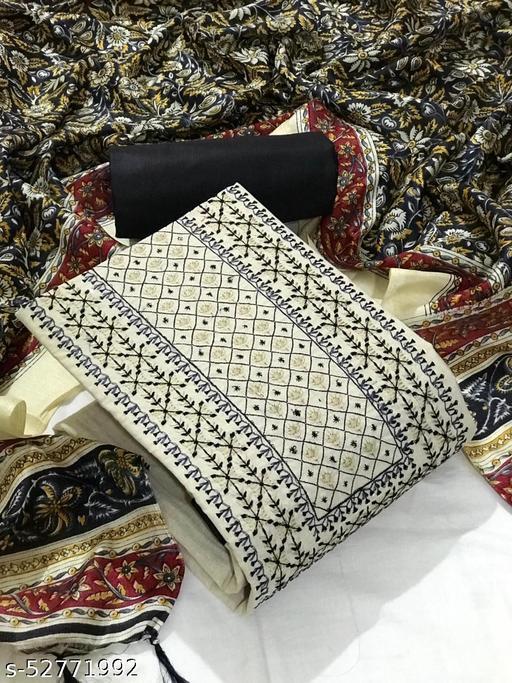 FLORINA KHADI COTTON UN STICHED SALWAR SUIT MATERIAL