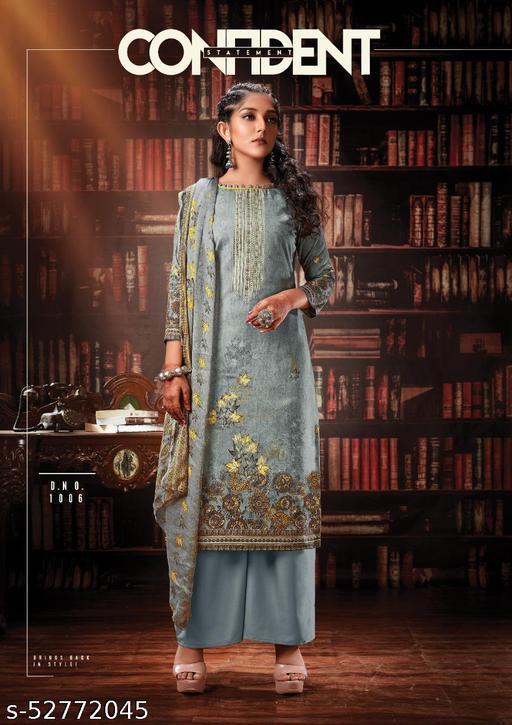 Indonesia Cotton Full Heavy Fancy Print Suit