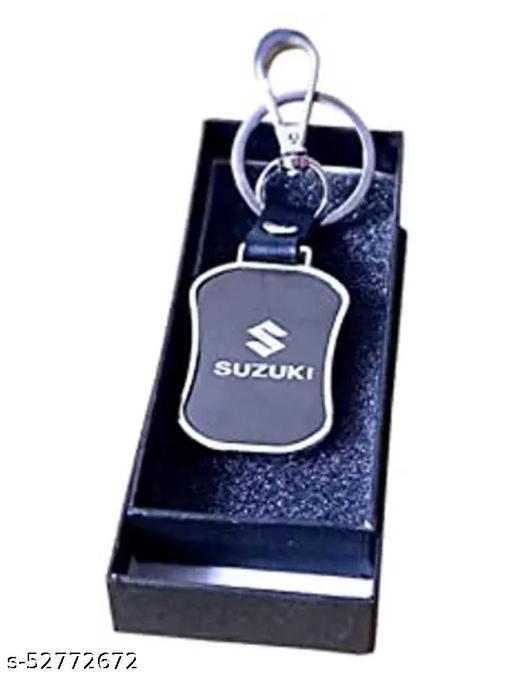suzuki keychain leather