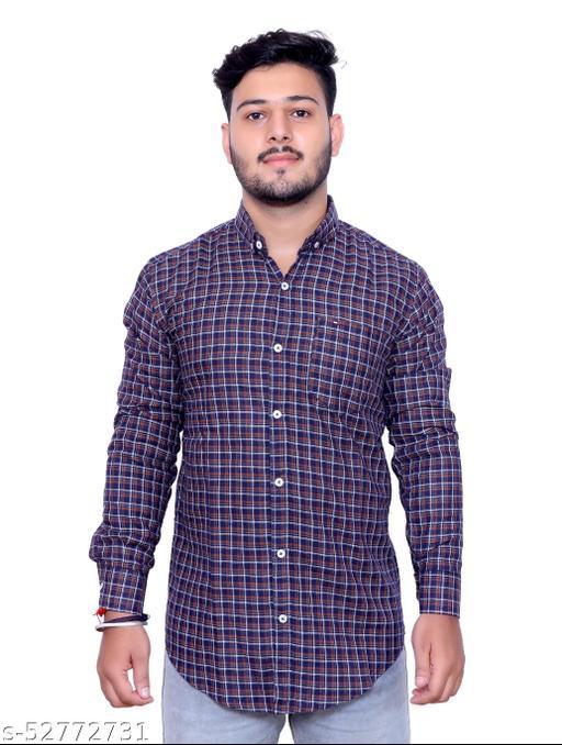 Zrop Casual Printed Shirt For Men