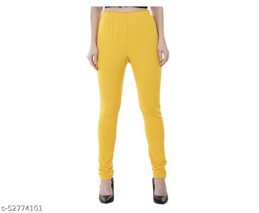 KAVYA Women Warm Wollen Solid Legging (Pack of 1)