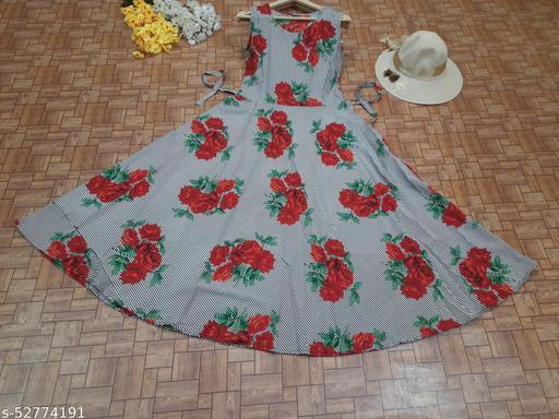 Amrican Crepe Dress