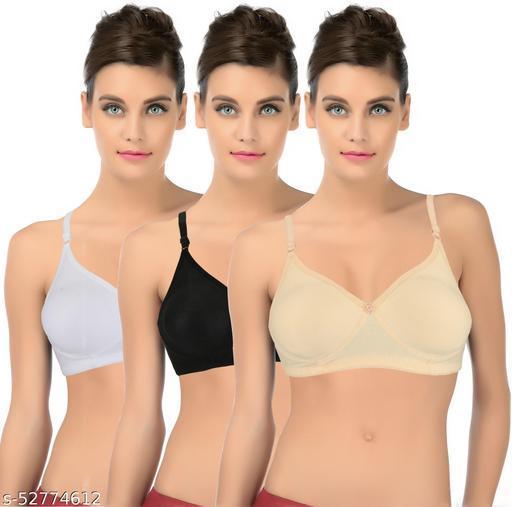 My Beauty Women T-Shirt Non Padded Bra( Non Padded)