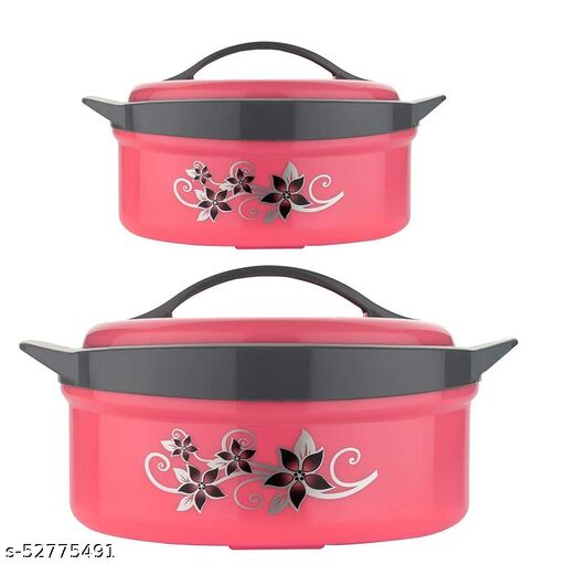 JK Thermoware Casserole Pack of 2 (RED)