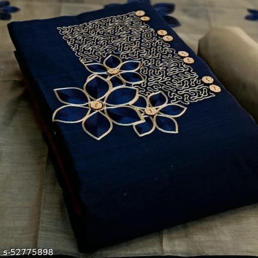COTTON Exclusive Dress Material Suit  For Women