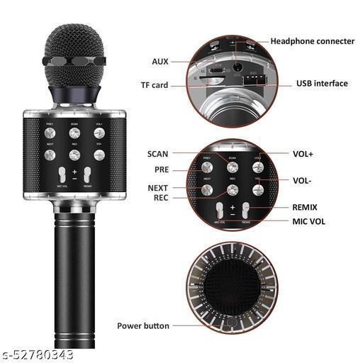 wireless miccrophone hifi speaker - ws858