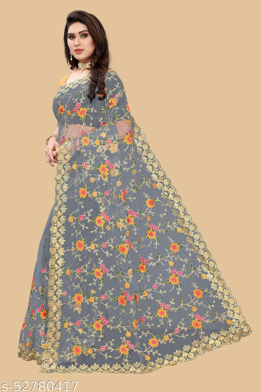 Bollywood designer sabyasachi collection saree For women - GREY