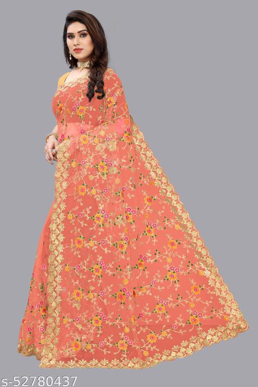 Bollywood designer sabyasachi collection saree For women - PEACH