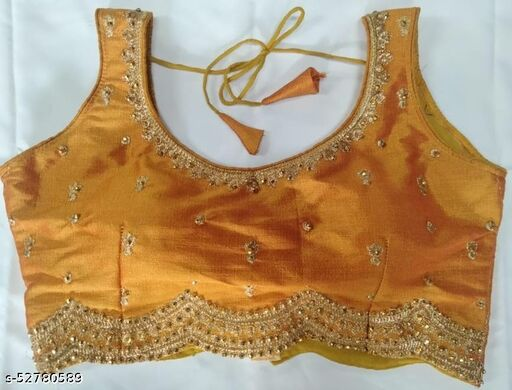 Trendy Embroidery Design Blouse (Full Stiched)