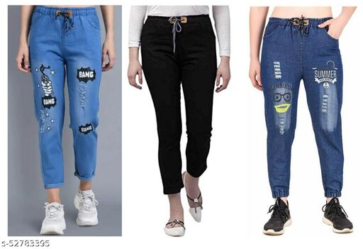 Jeans for Womens Pack of 3