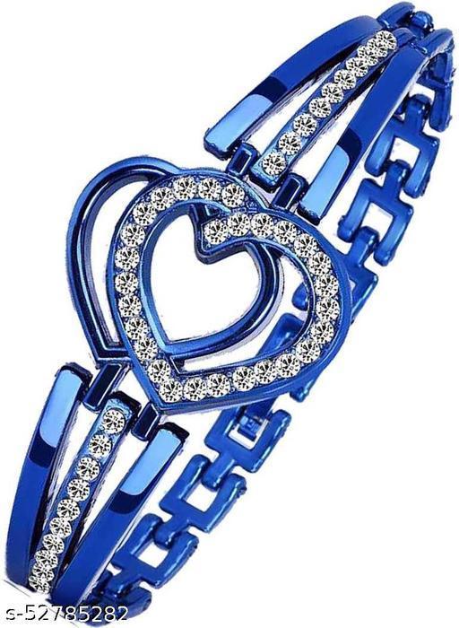 Heart Bracelet Blue