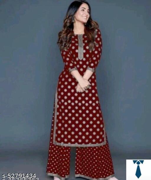 Fashionable Kurta Sets For Girl's