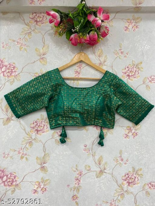 Meera Banarasi Silk Blouse