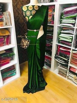 Attractive Women's Satin SilkSarees