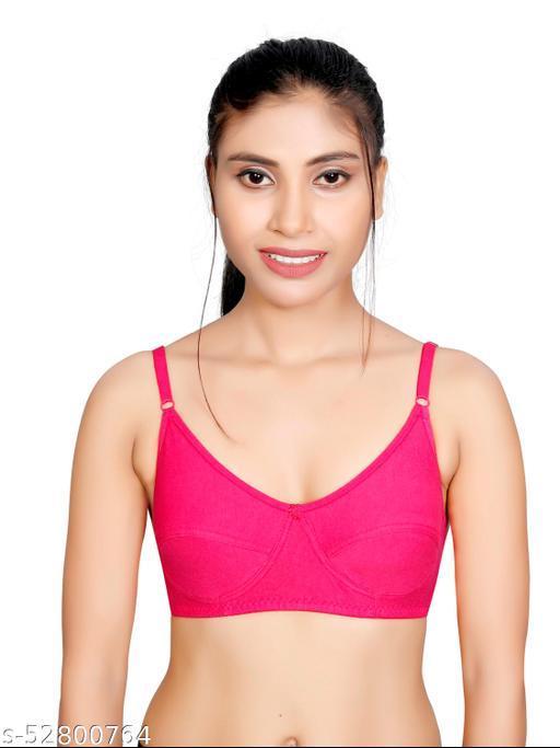 SPK ENTERPRISE Women Full Coverage Non-Padded Multicolor Everyday Cotton Bra