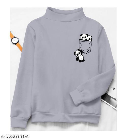 Women Cotton Regular Fit Casual Sweatshirt