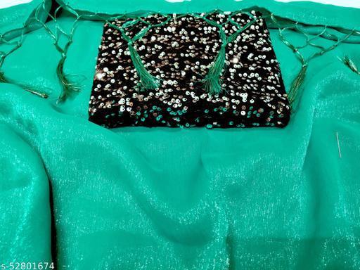 trendy simar silk solid saree