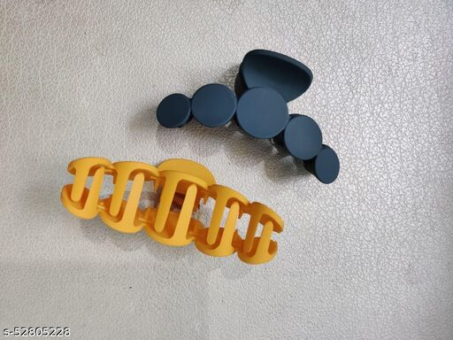 Korean Matte Claw Clips
