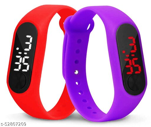 Digital Led band watch for kids(Pack of 2)