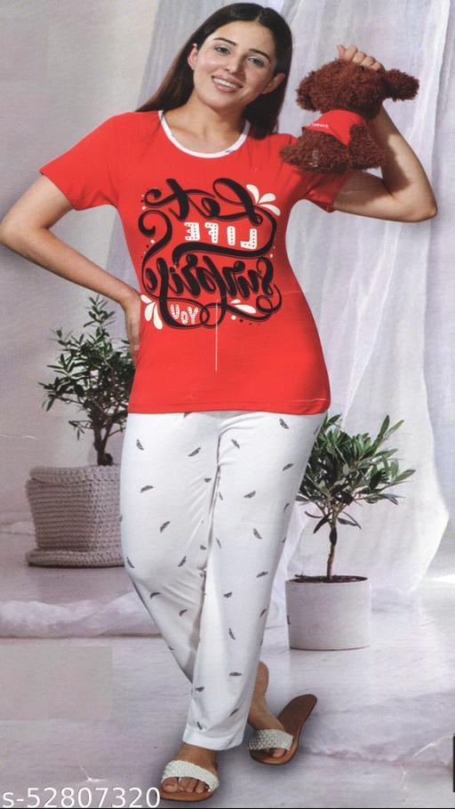 Inaaya Fashionable Women Nightsuits