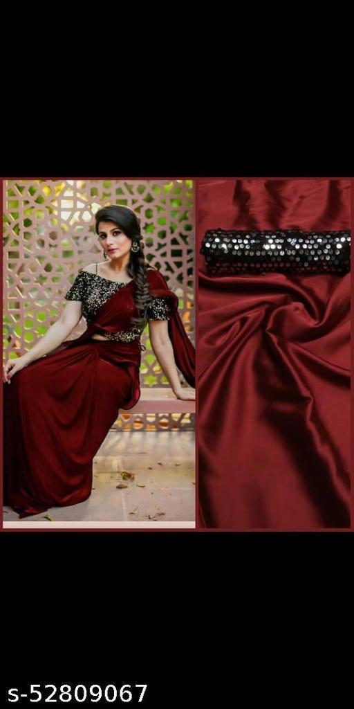 Heavy soft silk saree with zari work blouse
